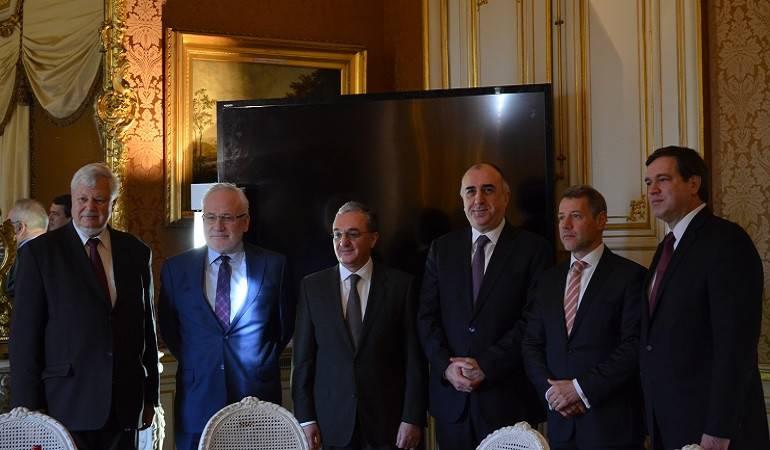 Հայաստանի և Ադրբեջանի արտաքին քաղաքական գերատեսչությունների ղեկավարների հանդիպումը