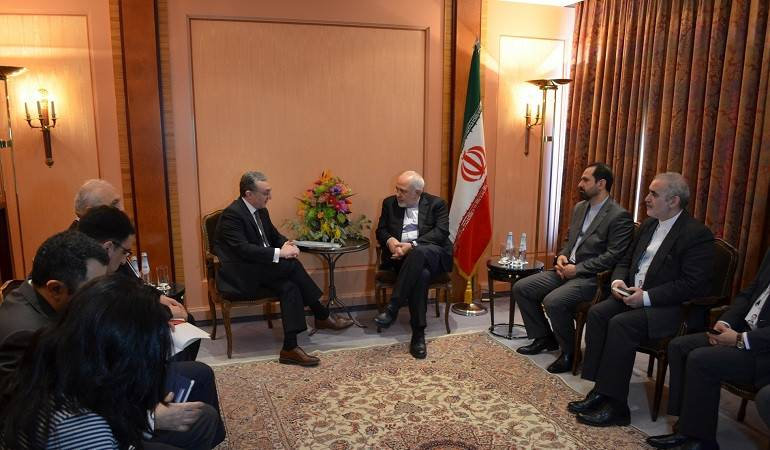 The meeting of the  Foreign Ministers of Armenia and Iran