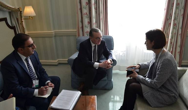 Armenian Foreign Minister meets with Senior Director of the U.S. National Security Council