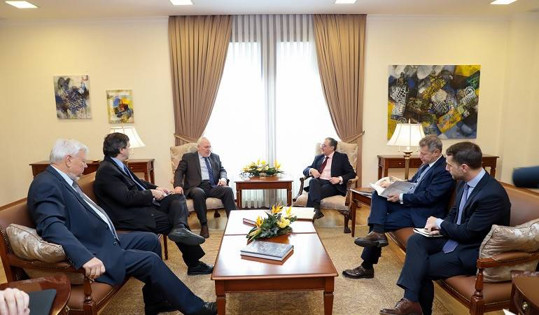 Встреча министра ИД Армении с сопредседателями Минской группы ОБСЕ