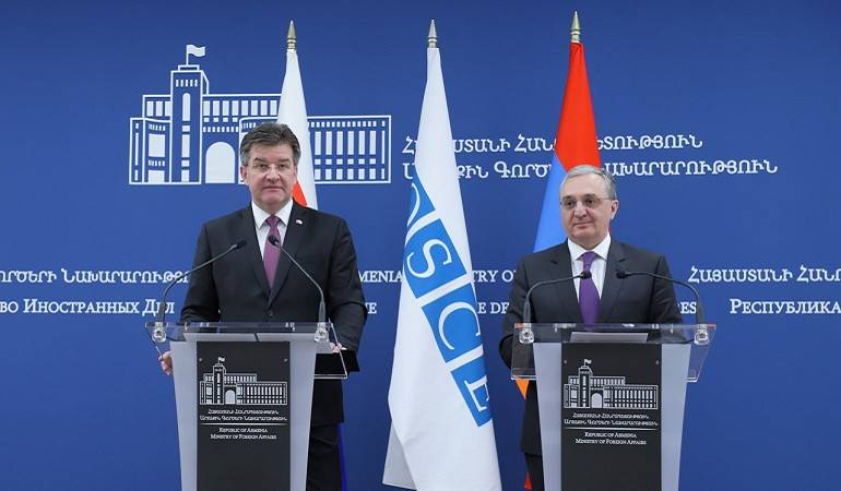 Statement by Foreign Minister of Armenia Zohrab Mnatsakanyan and answers to the questions of journalists at the joint press conference with Miroslav Lajčák, Foreign Minister of Slovakia and the OSCE Chairperson in Office