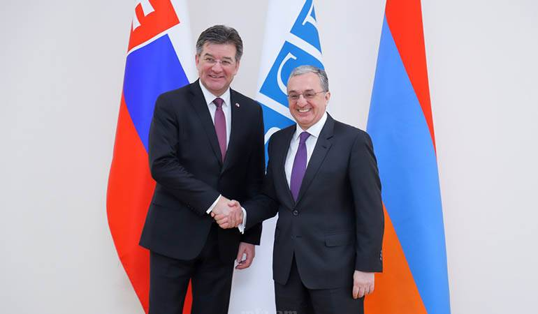 Foreign Minister's meeting with the OSCE Chairperson-in-office