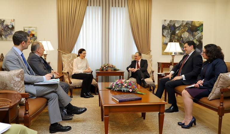 Foreign Minister of Armenia met the PACE co-rapporteurs