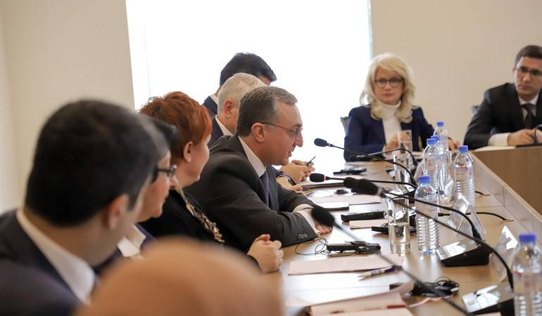 Remarks by Foreign Minister Zohrab Mnatsakanyan at the Panel Discussion on Women, Peace and Security: International and Armenian Practice