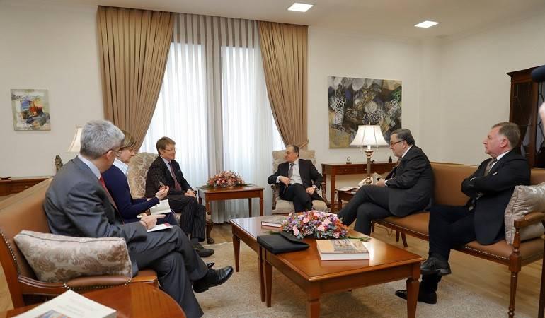 ՀՀ ԱԳ նախարարի հանդիպումը Եվրոպական հանձնաժողովի հարևանության և ընդլայնման բանակցությունների գլխավոր տնօրինության արևելյան հարևանության հարցերով տնօրենի հետ