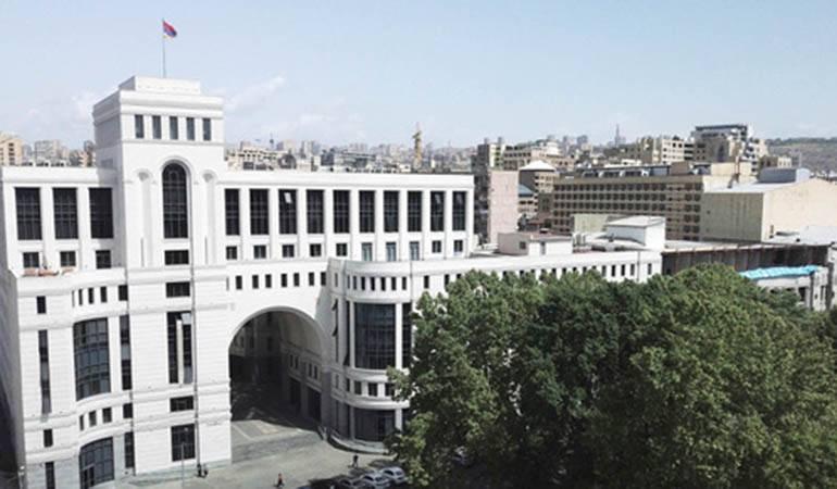 La déclaration du ministère des Affaires étrangères d'Arménie à l'occasion du troisième anniversaire des hostilités du mois d'avril, déclenchées par l'Azerbaïdjan contre l'Artsakh