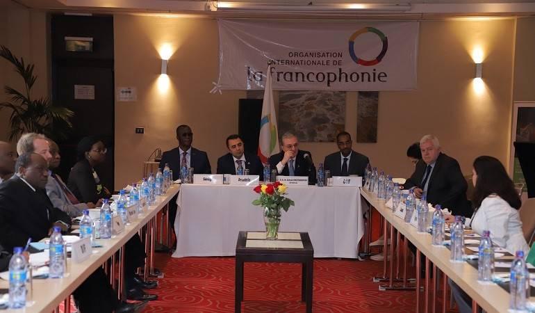 Zohrab Mnatsakanyan a eu une rencontre avec les ambassadeurs des pays francophones accrédités en Éthiopie