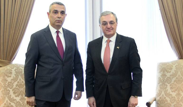 Meeting of Foreign Ministers of Armenia and Artsakh