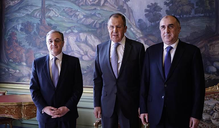 Ադրբեջանի, Հայաստանի և Ռուսաստանի ԱԳ նախարարների, ինչպես նաև ԵԱՀԿ Մինսկի խմբի համանախագահների հայտարարությունը Լեռնային Ղարաբաղի հիմնահարցի կարգավորման վերաբերյալ