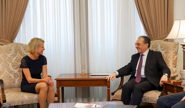 Foreign Minister Zohrab Mnatsakanyan's meeting with Assistant Secretary-General of the United Nations