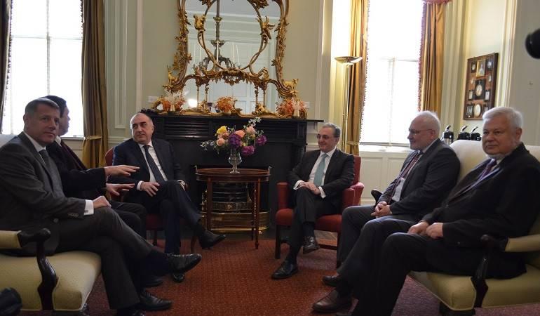 Rencontre entre les ministres des Affaires étrangères d'Arménie et d'Azerbaïdjan à Washington