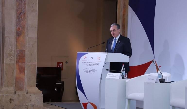 Вступительная речь Министра иностранных дел Зограба Мнацаканяна на ежегодном собрании руководителей центрального аппарата МИД и глав органов дипломатической службы Армении в зарубежных странах