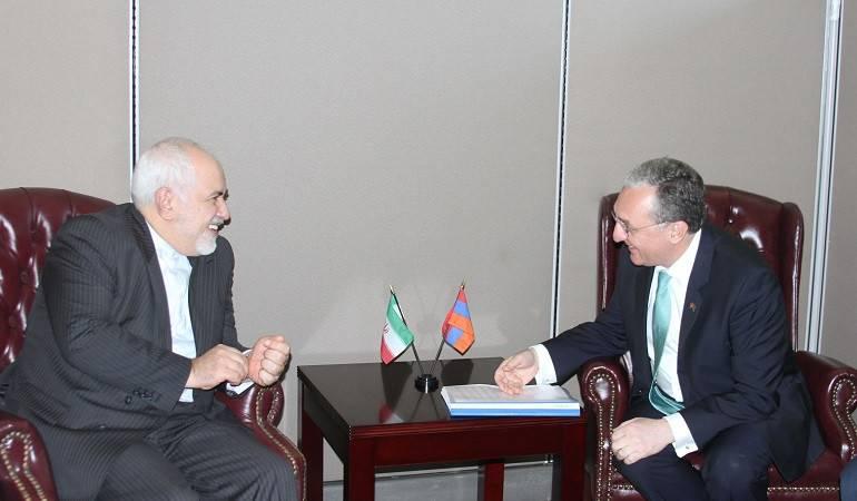 Zohrab Mnatsakanyan's meeting with Javad Zarif