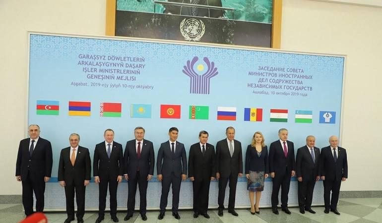 Աշխաբադում տեղի ունեցավ Անկախ պետությունների համագործակցության արտաքին գործերի նախարարների խորհրդի նիստը