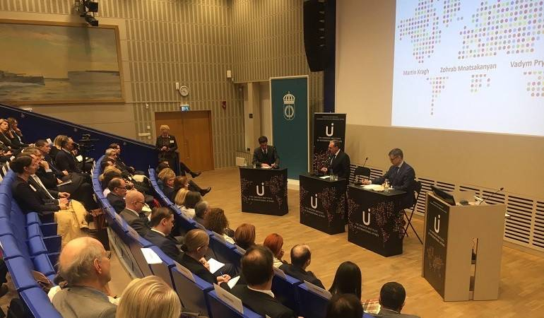 Foreign Minister of Armenia Zohrab Mnatsakanyan delivered a lecture at the Swedish Institute of International Affairs
