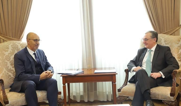 Встреча Министра иностранных дел Зограба Мнацаканяна с Представителем ОБСЕ по вопросам свободы средств массовой информации Арлемом Дезиром