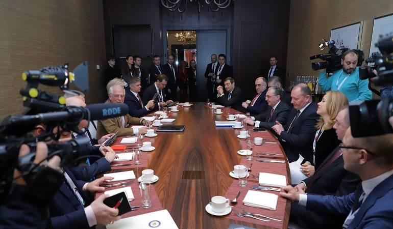 Министр иностранных дел Зограб Мнацаканян принял участие во встрече Министров иностранных дел стран Восточного Партнерства