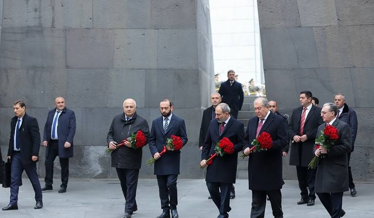 Events dedicated to the Commemoration of the Victims of the Crime of the Armenian Genocide took place in Yerevan