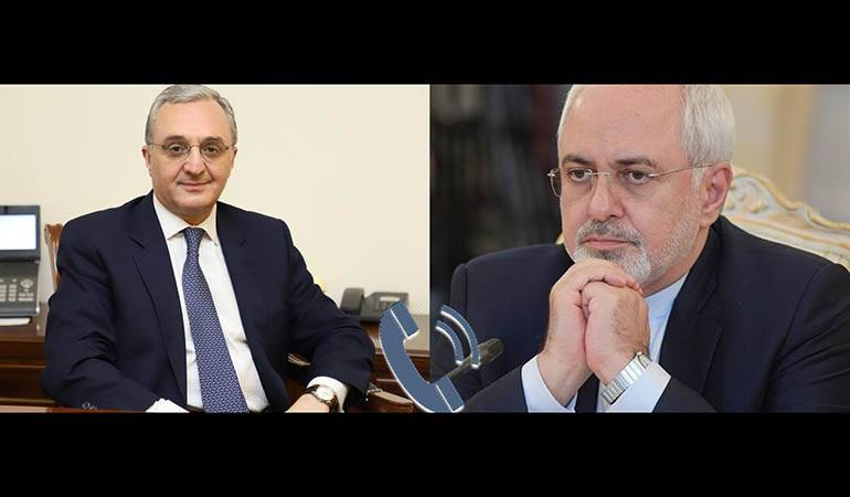 Phone conversation between the Foreign Ministers of Armenia and Iran