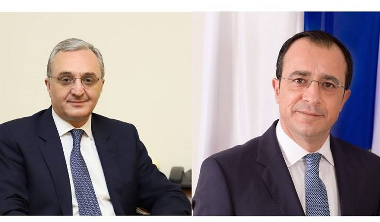 Foreign Minister Zohrab Mnatsakanyan՛s phone conversation with his Cypriot counterpart