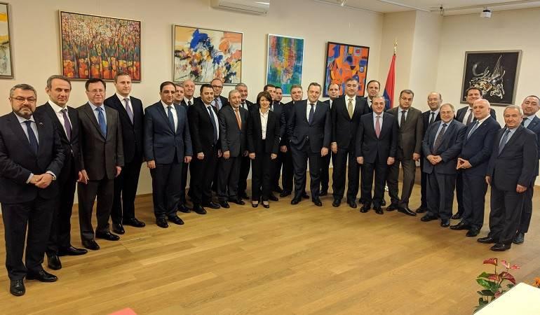 В Вене состоялась встреча Глав дипломатических представительств Армении, аккредитованных в европейских странах и при международных и региональных организациях
