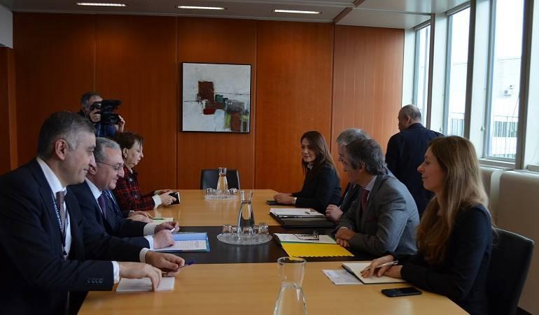 Встреча Зограба Мнацаканяна с Генеральным директором МАГАТЭ Рафаэлем Гросси