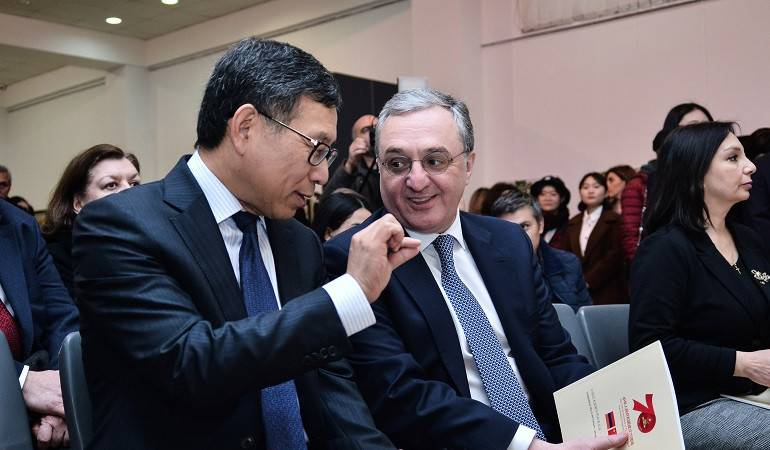 """Zohrab Mnatsakanyan attended the event entitled """"Prayer for the Residents of Wuhan"""""""