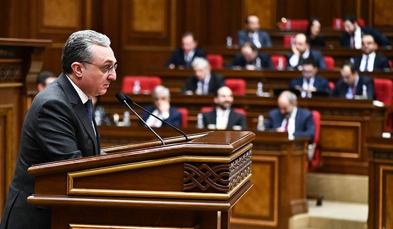 Foreign Minister's answers to the questions of the Members of Parliament of Armenia during the Q&A session with the Government