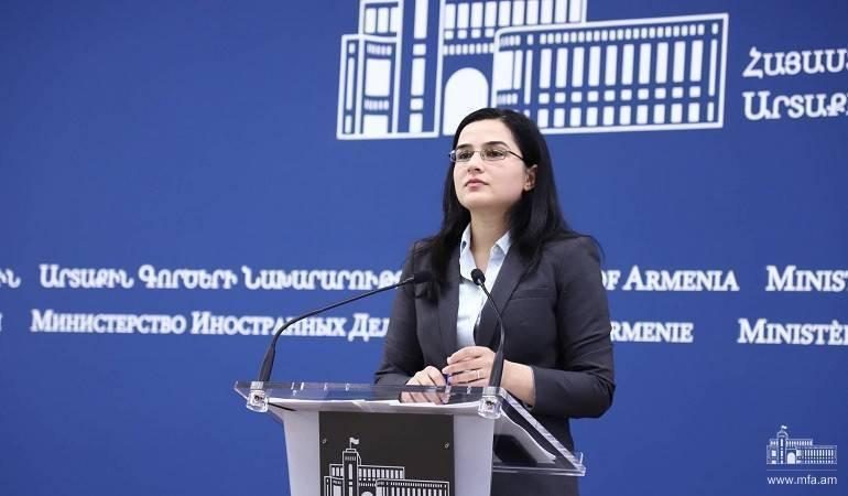Commentaire de la porte-parole du ministère des Affaires étrangères sur l'évolution de la situation en Libye