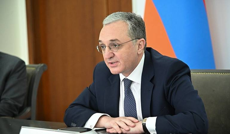 Foreign Minister of Armenia Zohrab Mnatsakanyan participated in the EaP Ministerial video-conference