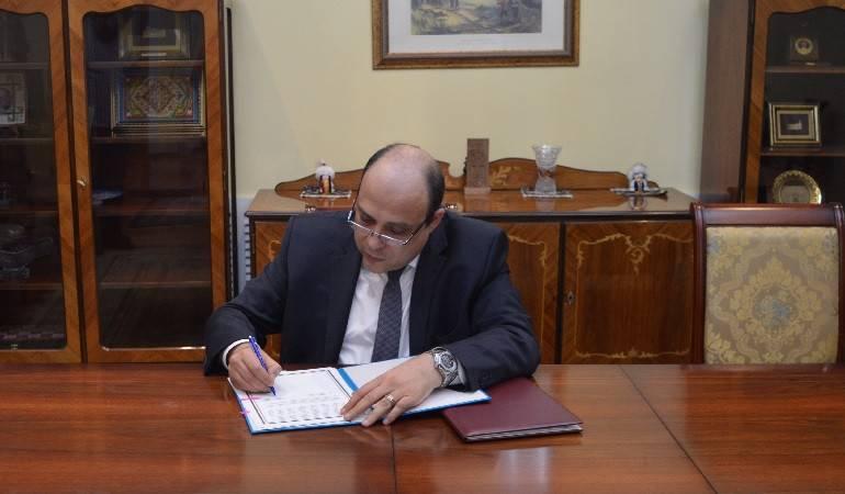 Подписание Соглашения между Правительствами Республики Армения и Республики Казахстан