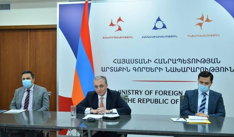 Le ministre des Affaires étrangères d'Arménie est intervenu lors du débat ouvert du Conseil de sécurité des Nations Unies sur la thématique «Coopération entre l'ONU et les organisations régionales et sous-régionales: rôle de l'OIF»
