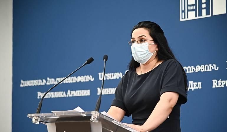 ԱԳՆ մամուլի խոսնակ Աննա Նաղդալյանի մեկնաբանությունը «The Human Rights Watch»-ի զեկույցի վերաբերյալ
