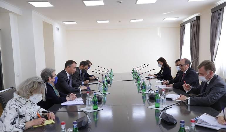 ԱԳ նախարարը հանդիպում ունեցավ  Հարավային Կովկասում և Վրաստանի ճգնաժամի հարցերով ԵՄ հատուկ ներկայացուցիչ Տոյվո Կլաարի հետ