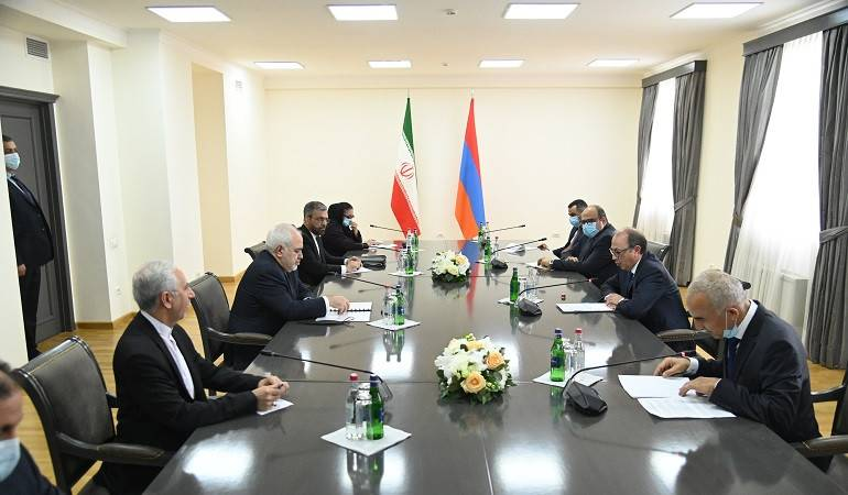 Opening Remarks of Acting Minister of Foreign Affairs of Armenia Ara Aivazian at the meeting with the Minister of Foreign Affairs of the Islamic Republic of Iran Mohammad Javad Zarif