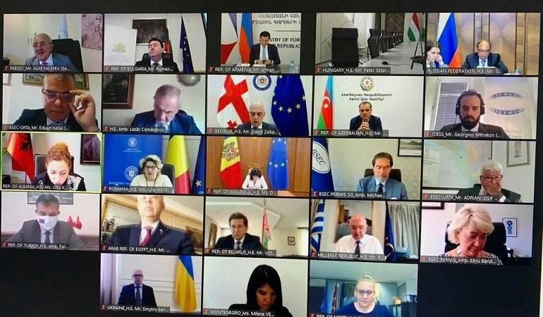 О 43-й встрече Совета министров иностранных дел государств-членов ОЧЭС