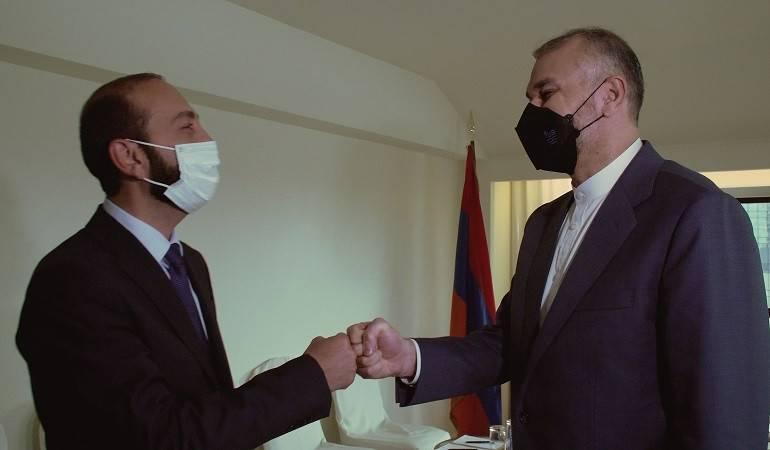 Состоялась встреча министров иностранных дел Армении и Ирана