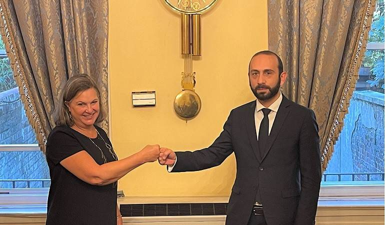 Meeting of Foreign Minister Ararat Mirzoyan with Victoria Nuland, US Under Secretary for Political Affairs