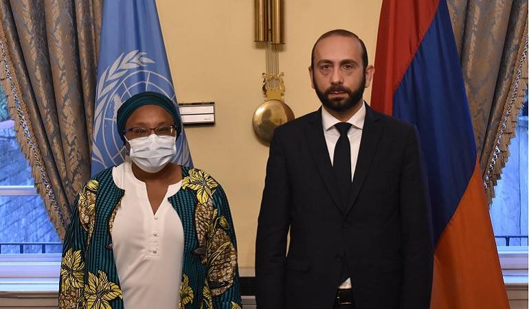 Meeting of the Foreign Minister of Armenia and Special Adviser to the UN Secretary General on Genocide Prevention