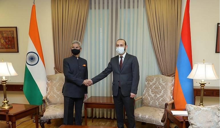 Հայաստանի ԱԳ նախարար Արարատ Միրզոյանի հանդիպումը Հնդկաստանի ԱԳ նախարար Սուբրամանյամ Ջայշանկարի հետ