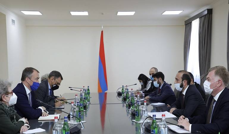 Meeting of Foreign Ministers of Armenia with the EU Special Representative for South Caucasus and the crisis in Georgia