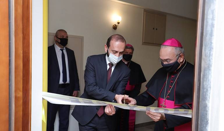 The opening ceremony of the Apostolic Nunciature of the Holy See in Armenia took place
