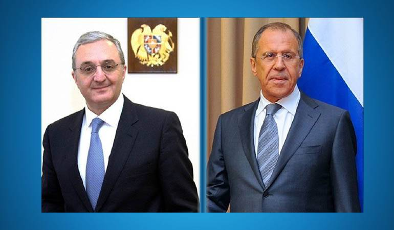 Phone Conversation between the Foreign Ministers of Armenia and Russia