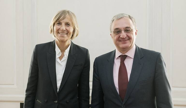 The Meeting of the Foreign Minister with the Chairman of the Foreign Affairs Committee of the National Assembly of France