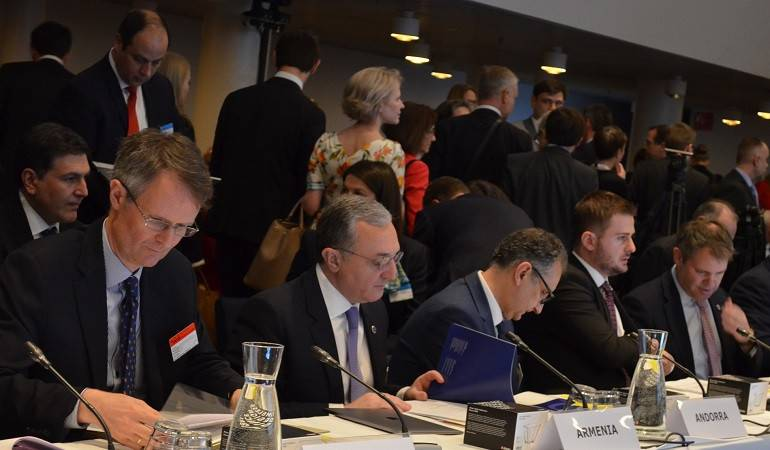 Statement by Zohrab Mnatsakanyan at the 129 th Session of the Committee of Ministers of the Council of Europe