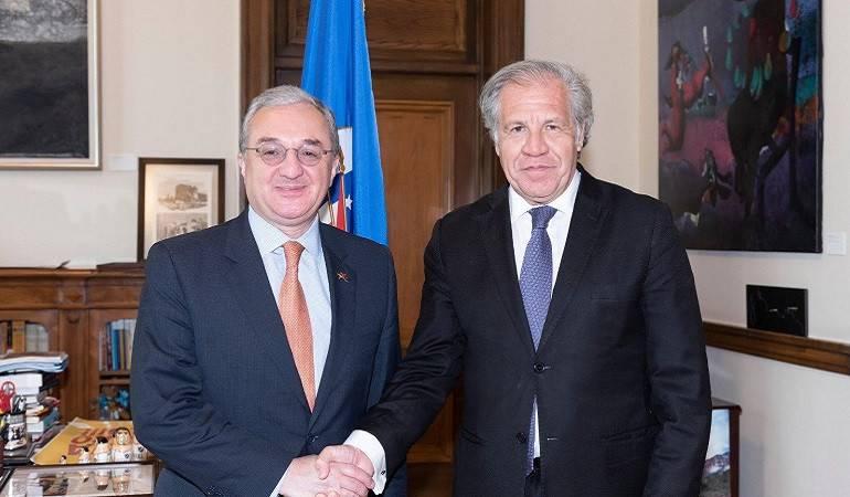 Встреча Зограба Мнацаканяна с Луисом Альмагро
