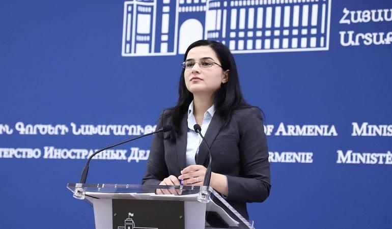 Ответ пресс-секретаря МИД Армении на вопрос относительно программы обмена журналистами
