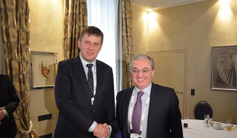 Meeting between Foreign Ministers of Armenia and Czech Republic