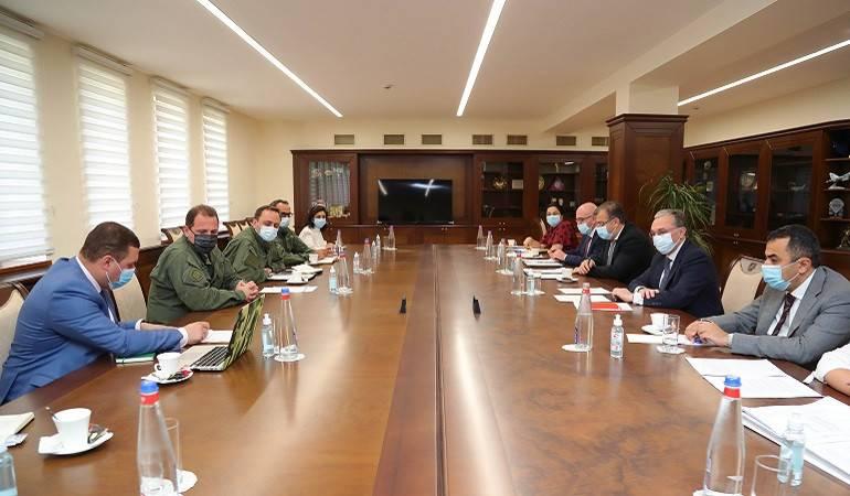 Միջգերատեսչական խորհրդակցություններ ՀՀ արտաքին գործերի և պաշտպանության նախարարությունների միջև