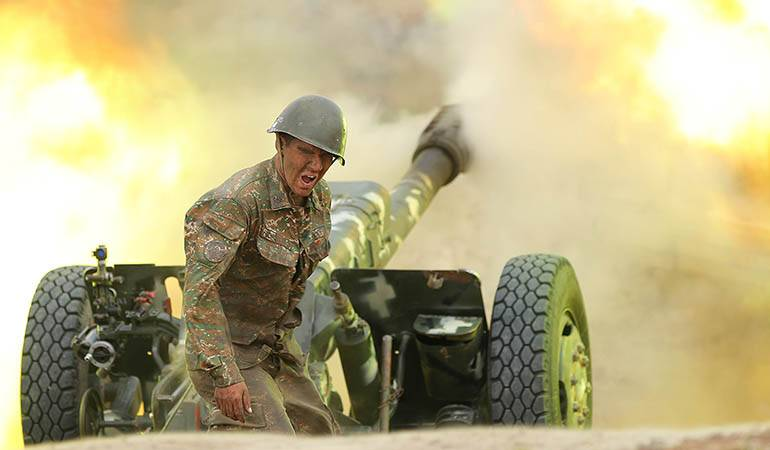 Военная агрессия Азербайджана. Хронология событий 08.11.2020